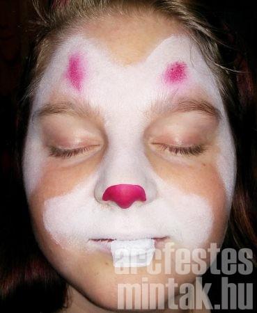 Nyuszi arcfestés