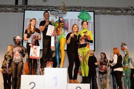 Hoppál Éva 3. helyezet a 2014-es Body Art versenyen