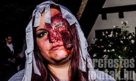 Lógó szemű zombi, Kovácsné Mudrony Beáta