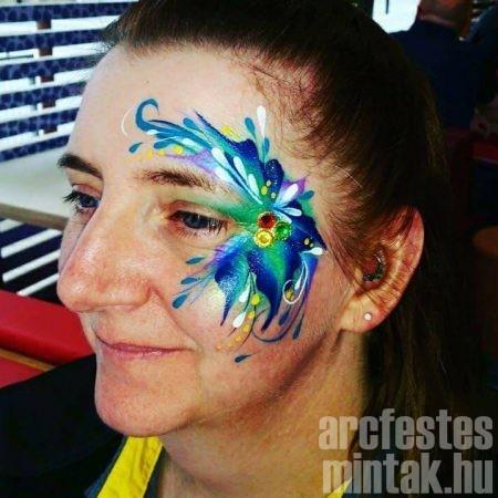 Virág arcfestés, Hegedűs Eszter