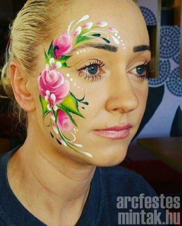 Rózsa arcfestés, Hegedűs Eszter