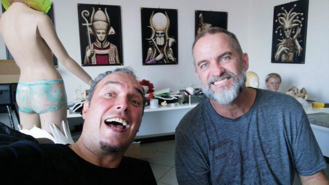az alkotók: Matteo Arfanotti és Nick Wolfe