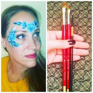 Glitterify Me arcfestő ecset – az arcfestők választása