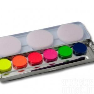 Neon színek arcfesték, Eulenspiegel