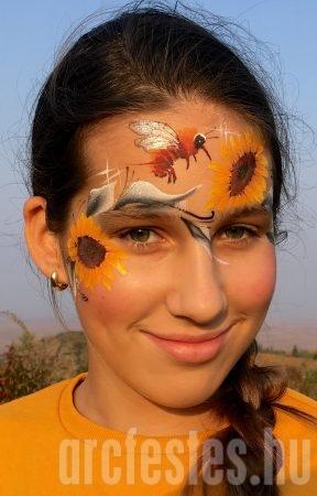 Dongó - Csíz arcfestés