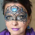 25 szuper farsangi arcfestés ötlet hölgyeknek