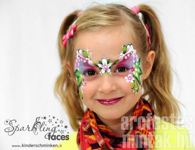 Virágos arcfestés, Svetlana KellerKeller
