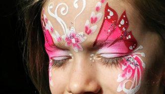 Pink Tavasztündér arcfestés