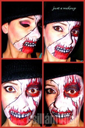 Hallowen - zombi - Azari-Vozár Viki