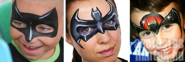 Batman arcfestés variációk