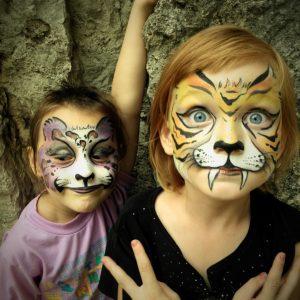 Legjobb versenyre beküldött arcfestések (válogatás 2013-ból)