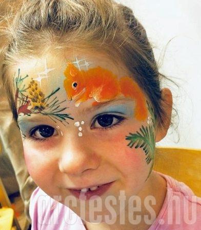 Mókus - Csíz arcfestés