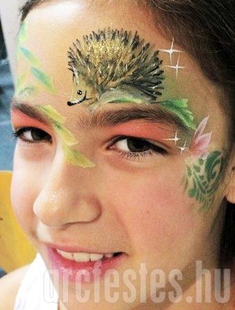 Sün - Csíz arcfestés