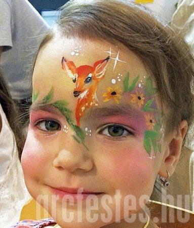 Őz - Csíz arcfestés