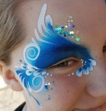 Arcfestés flitter, csillámpor, arcfestő: Mai Bohl