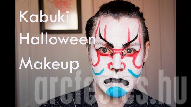 Alberto Pérez Kabuki halloween sminkje