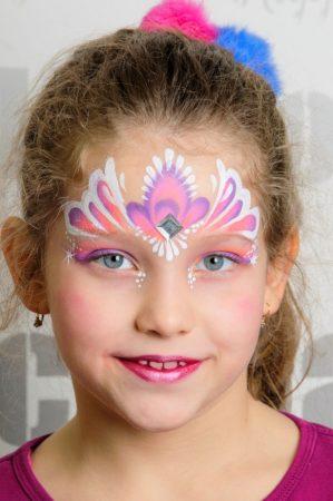 Hercegnő arcfestés