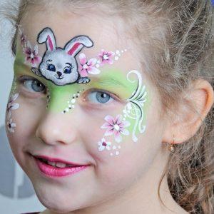 Húsvéti nyúl arcfestés