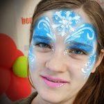 jégvarázs arcfestés