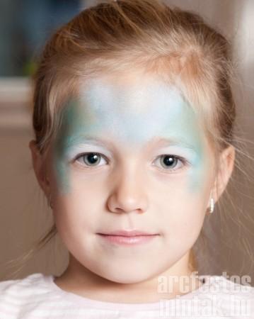 2. Jéghercegnő arcfestés