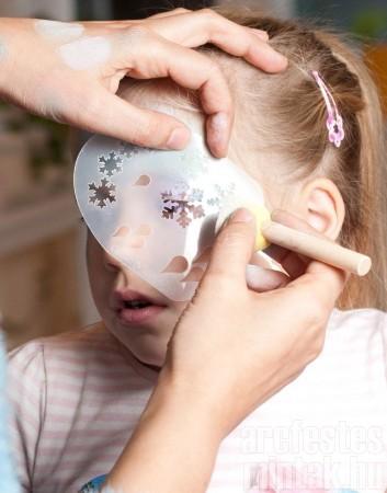 3. Jéghercegnő arcfestés