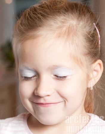 1. Jéghercegnő arcfestés