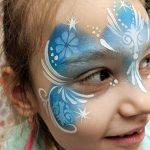 Jégvarázs arcfestés lányoknak