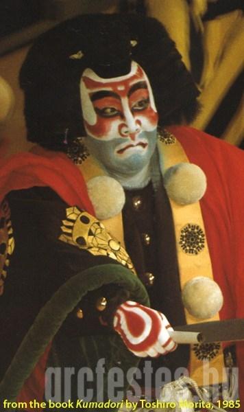 Benkei arcfestés