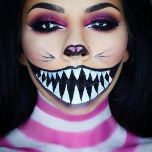 Halloween arcfestés minták nőknek