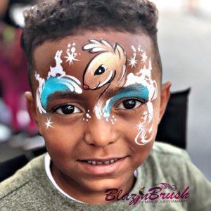 Rénszarvas arcfestés ötletek