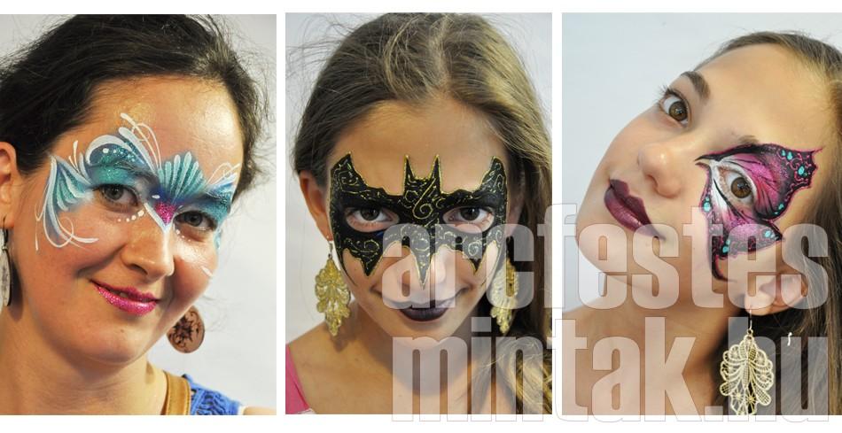 Mark Reid - kezdő arcfestőképző workshop