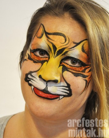 Tigris csillámmal 2. Művész: Mark Reid