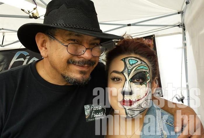 Mark Reid arc-, testfestő