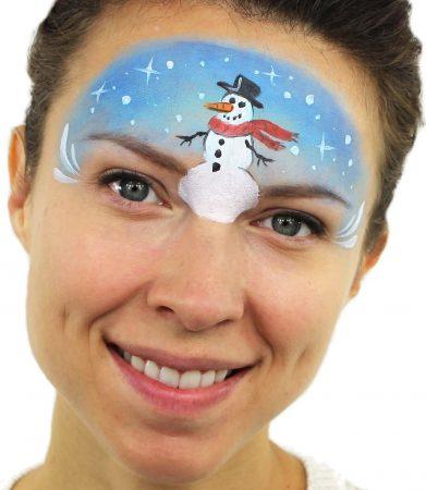 Hóember arcfestés, Ashlea Henson
