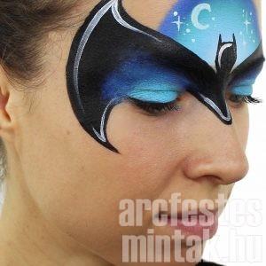 Könnyen másolható arcfestés minták