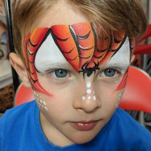 Pókember arcfestés – VIDEO