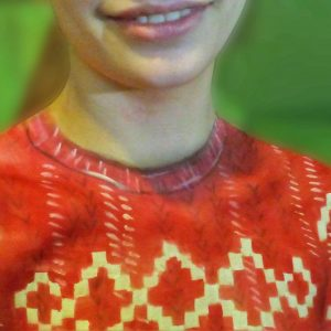 A Krefiti program díjnyertese egy arcfestő!