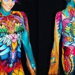 Élénk színű arcfesték – Superstar, Sabina Vogel munkái