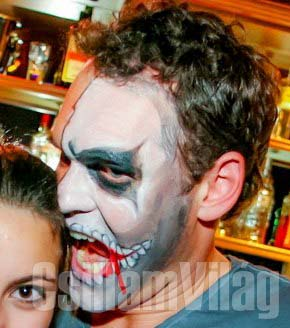 Hallowen - zombi - Szefcsik Betta