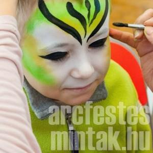 Tigris arcfestés