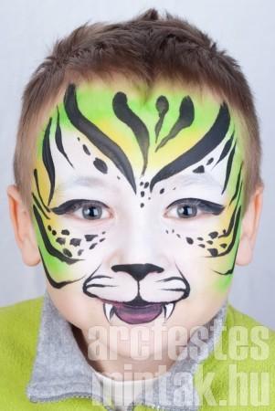 Tigris arcfestés 5.