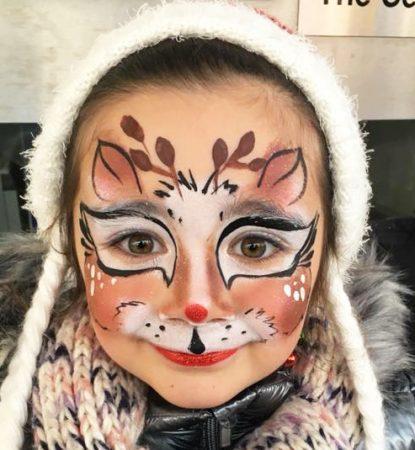 Szarvas arcfestés, Tracy Bond