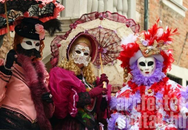 Velencei karnevál - életkép