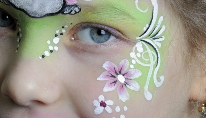 Virágszirom festés két színnel – Video