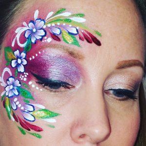 Virágos arcfestes