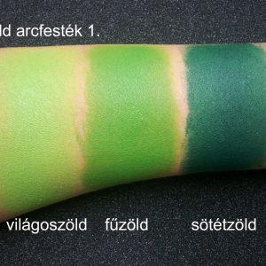 Zöld arcfesték 1. Superstar zöld festék
